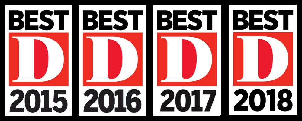 D Magazine's Best Mortgage Professionals 2015-2018